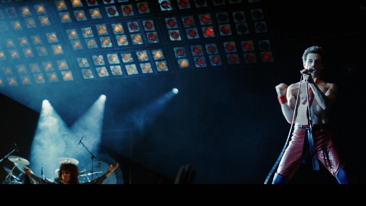 Der Schauspieler Rami Malek als Freddie Mercury