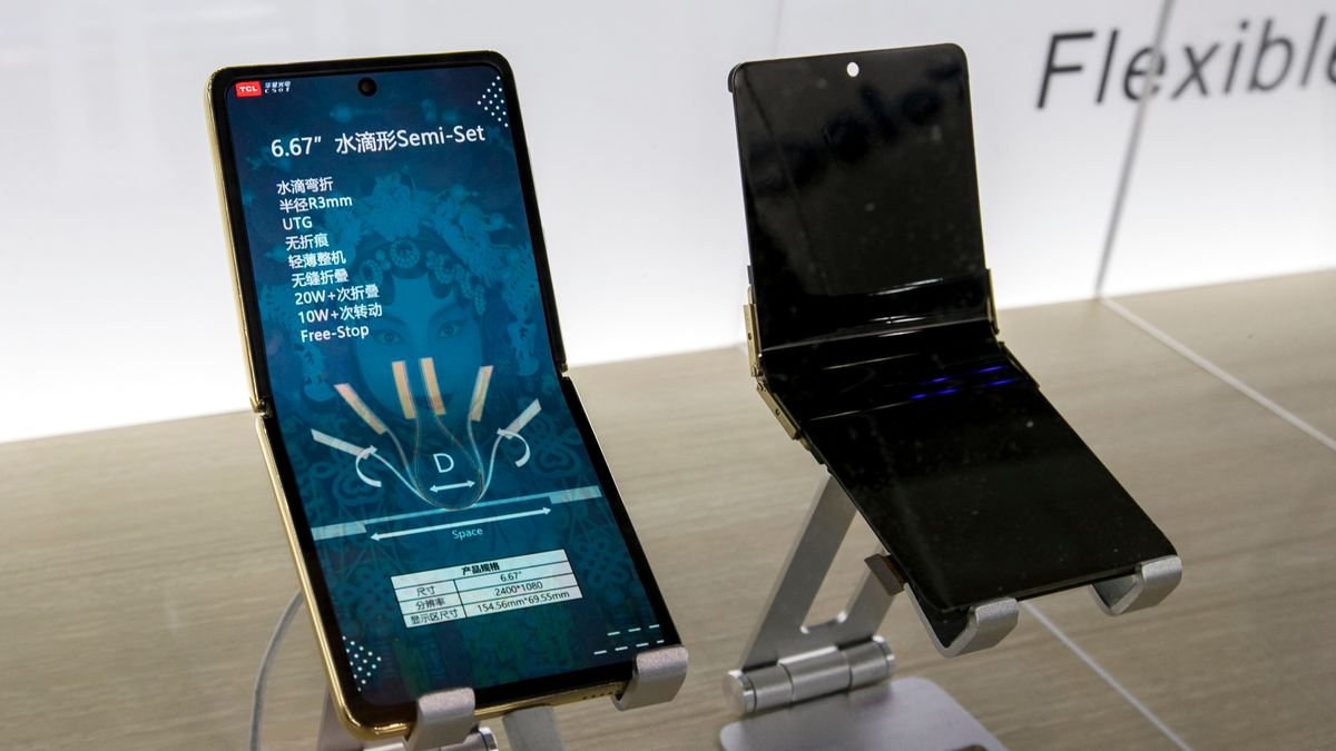 Faltbare und rollbare Smartphone waren ein Trend des MWC in Shanghai.