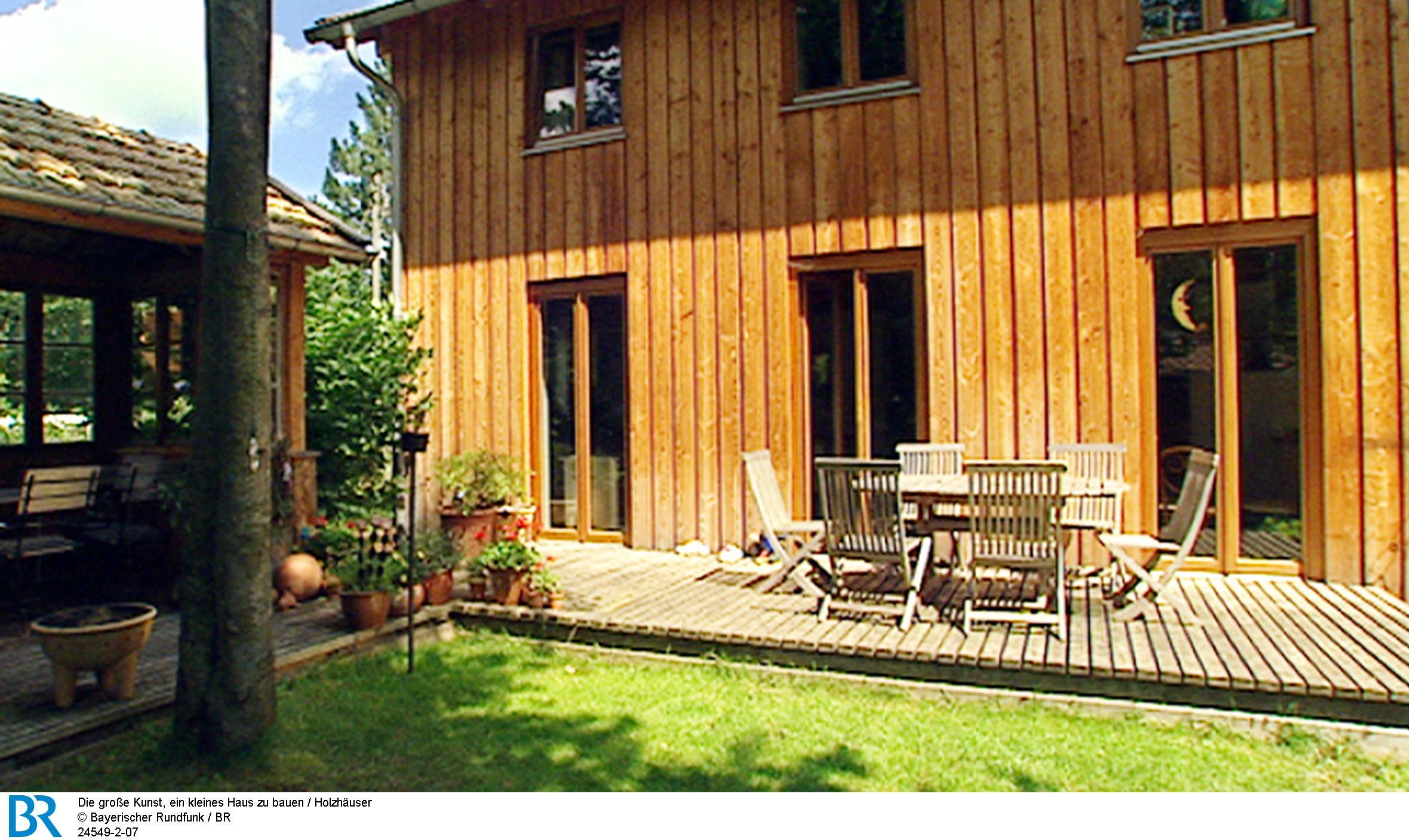 Die große Kunst, ein kleines Haus zu bauen : Holzhäuser (2003)