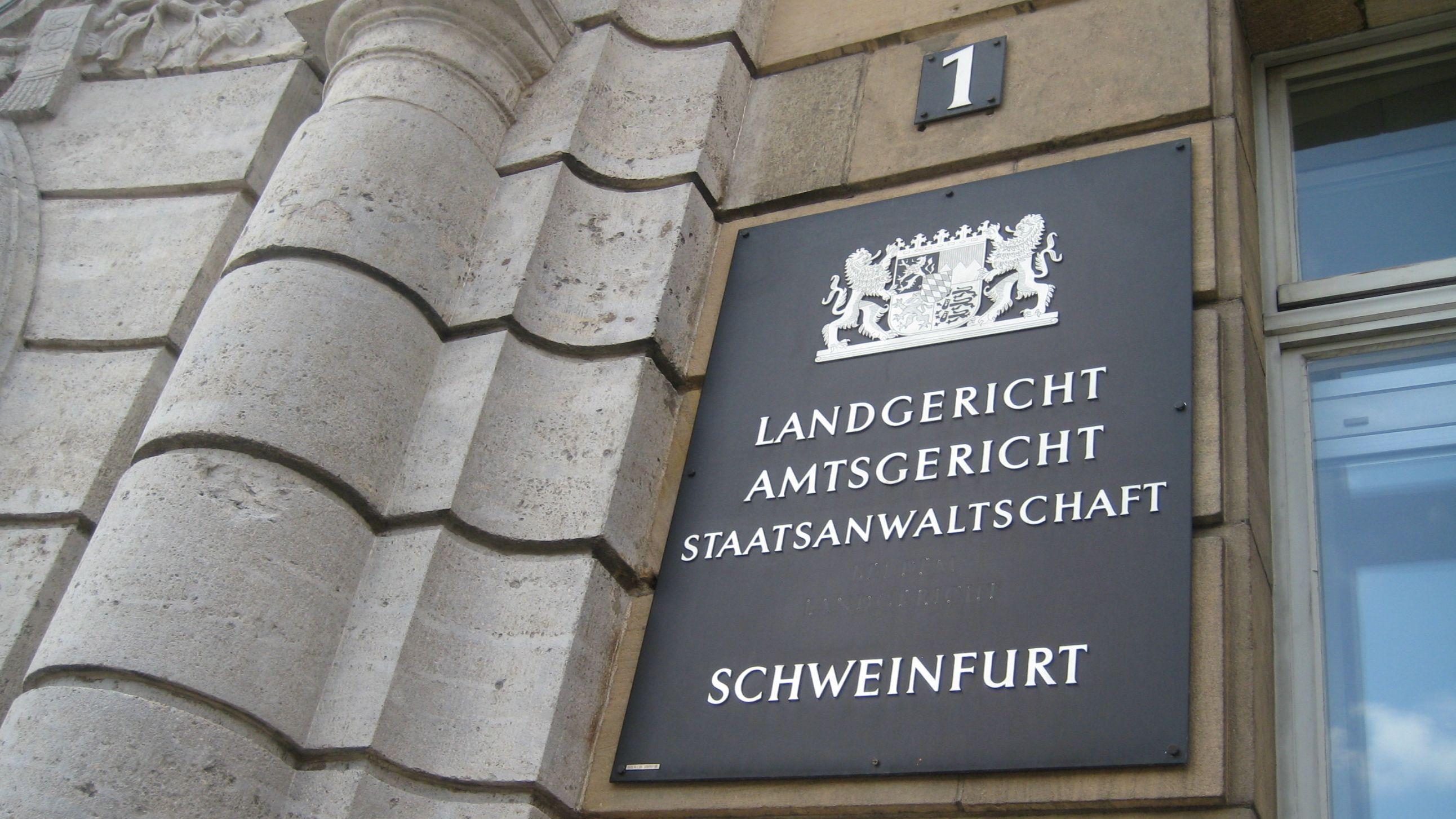 Landgericht Schweinfurt (Symbolbild)