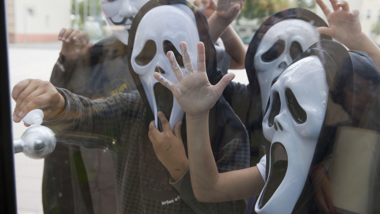 Symbolbild Halloween-Streich