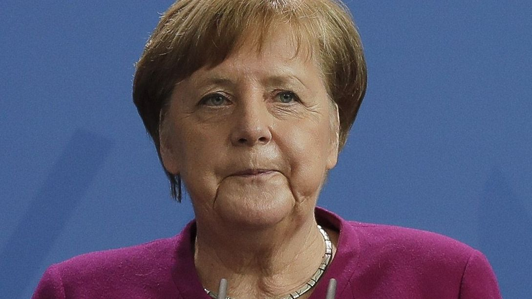 Bundeskanzlerin Merkel spricht beim Corona-Virus von schwerer Prüfung