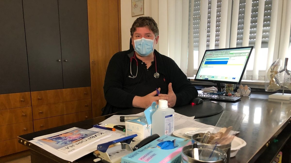 Alexander Zaune, Hausarzt und Versorgungsarzt in Dillingen.