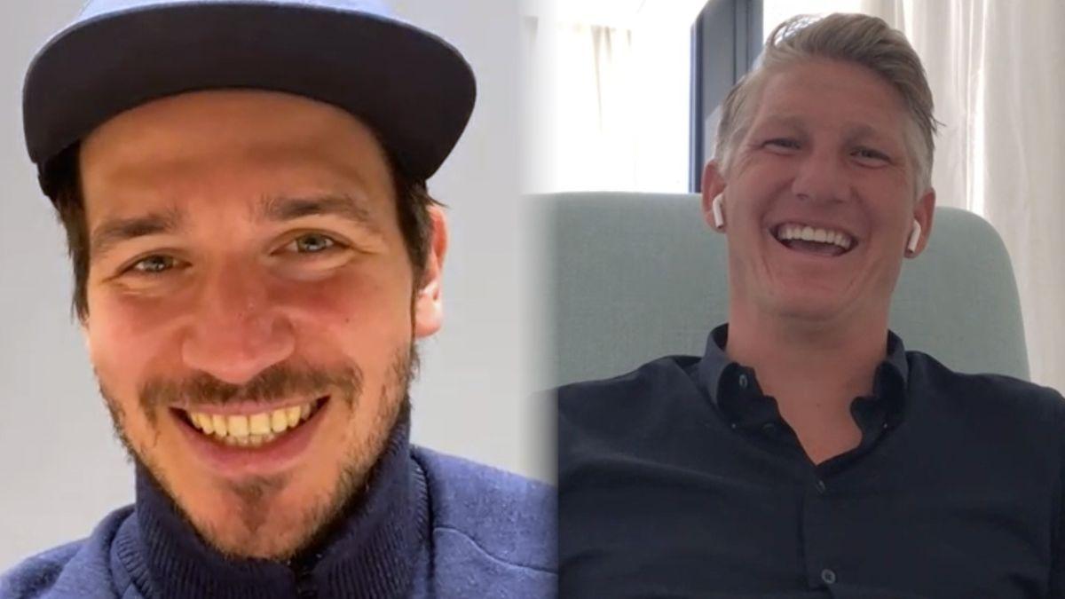 Felix Neureuther und Bastian Schweinsteiger