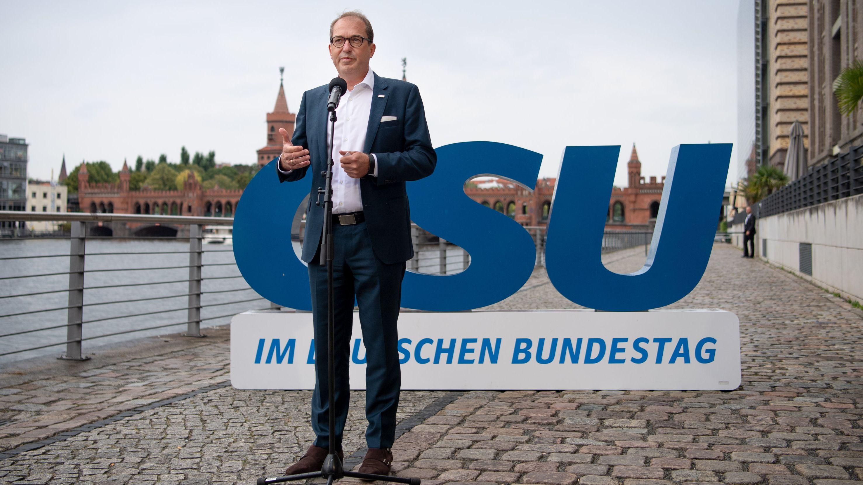 Alexander Dobrindt, CSU-Landesgruppenchef,