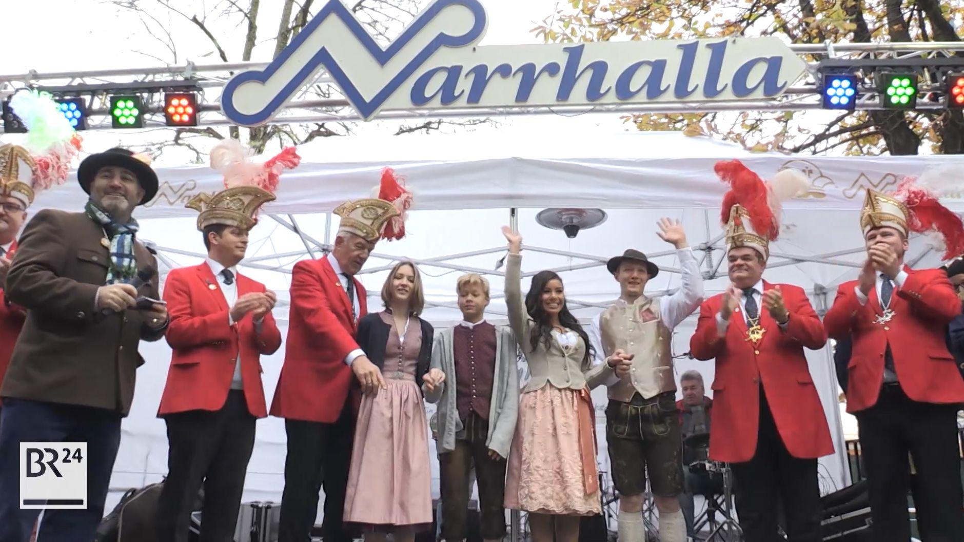 Narrhalla-Prinzenpaar vorgestellt: Moritz II. und Désireé I.