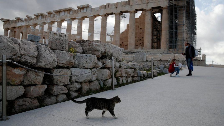 Akropolis-Hügel, Athen