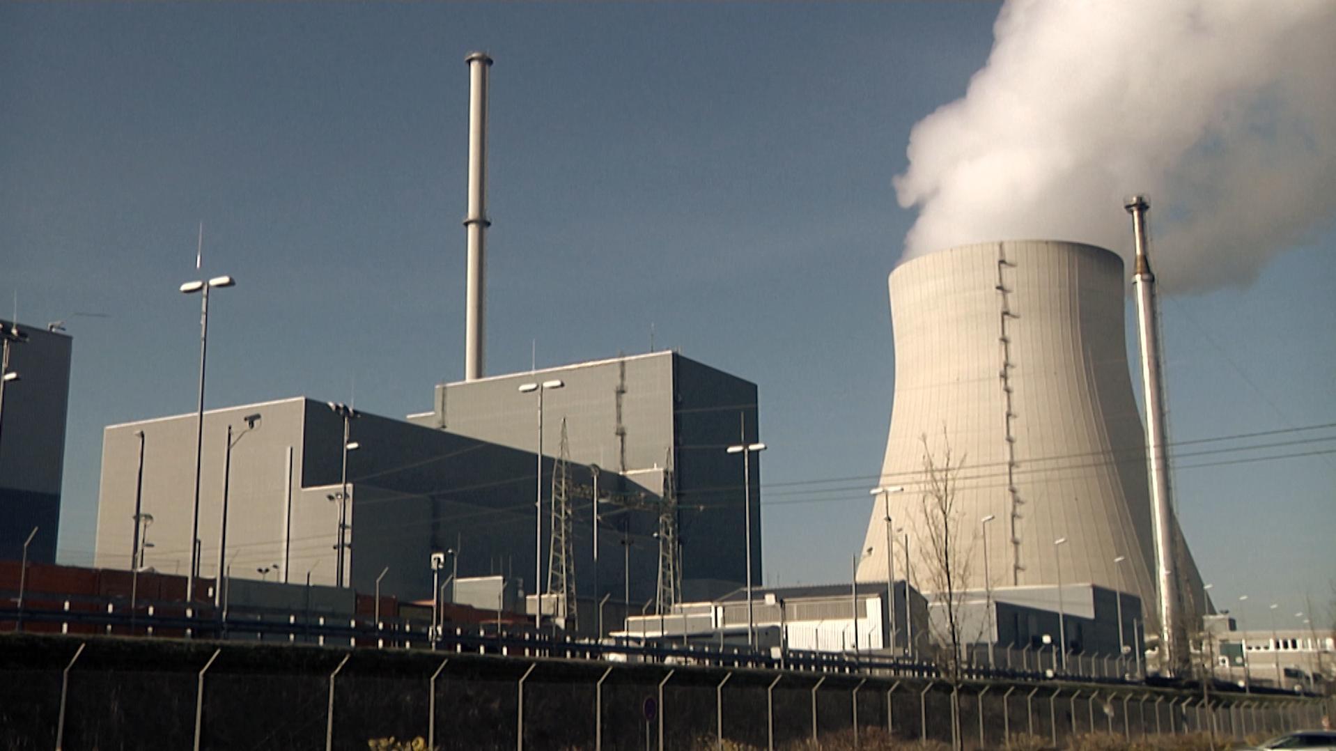 Atomkraftwerk Isar 1 von außen