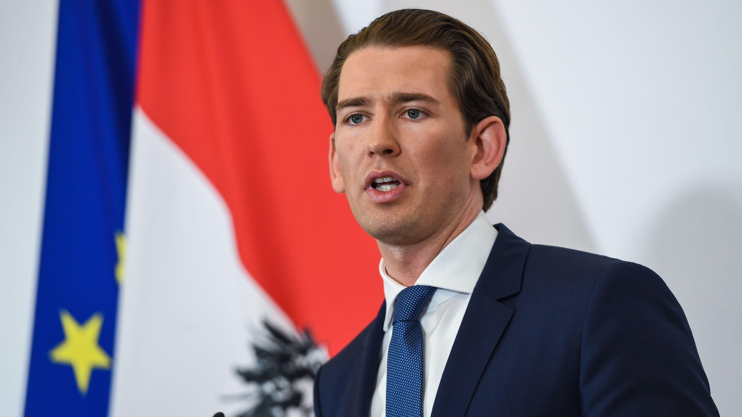 Massiv unter Druck: Österreichs Kanzler Kurz (ÖVP)