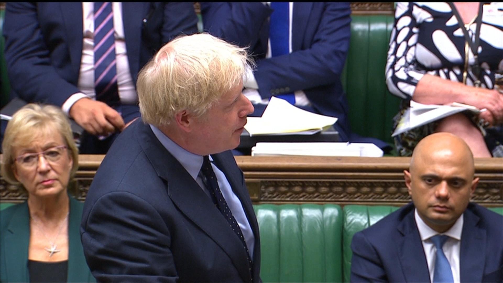 Boris Johnson im Parlament