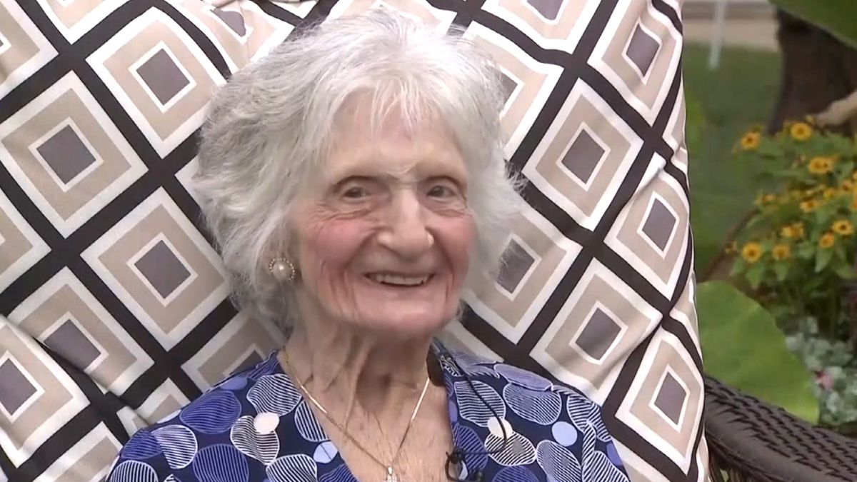107-jährige Anna Del Priore