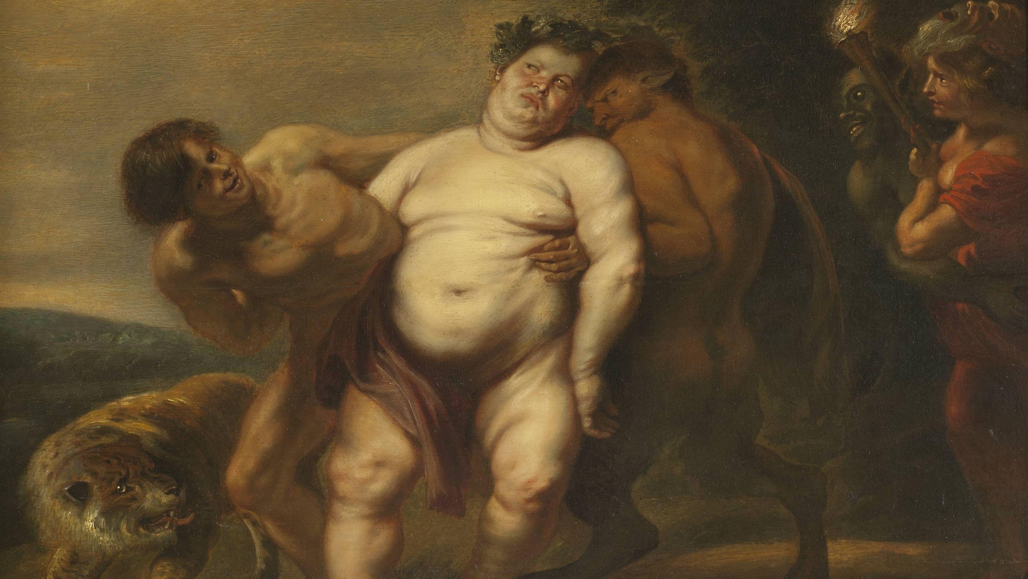Nicht eben ein schöner Anblick: Der trunkene Silen von Peter Paul Rubens