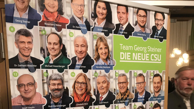 44 Listenkandidaten werden auf dem Neujahrsempfang der Passauer CSU vorgestellt