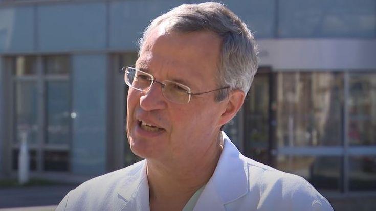 Prof. Dr. Joachim Ficker, Chefarzt der Covid-19-Stationen, Klinikum Nürnberg