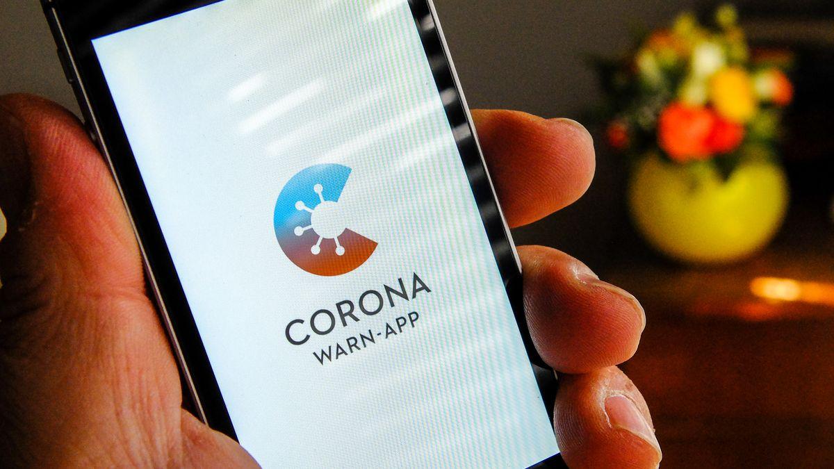Corona-Warn-App auf Smartphone