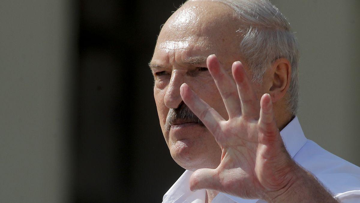 Der Präsident von Belarus Alexander Lukaschenko