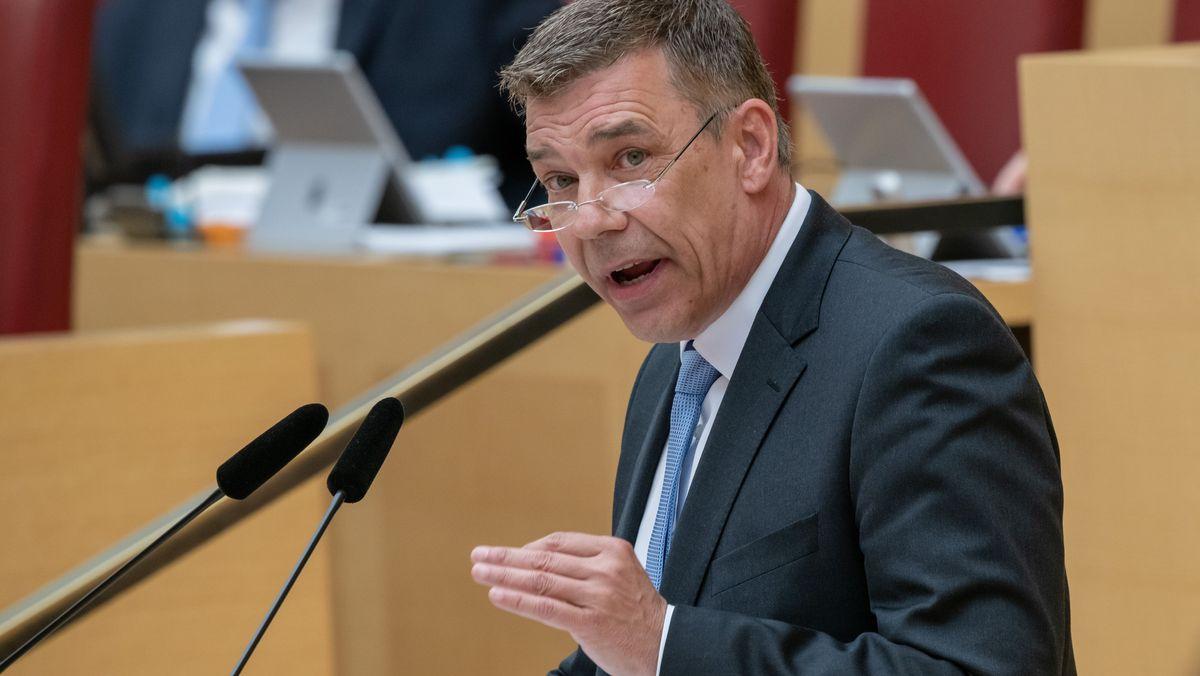 Der Schweinfurter Landtagsabgeordnete Richard Graupner (AfD)