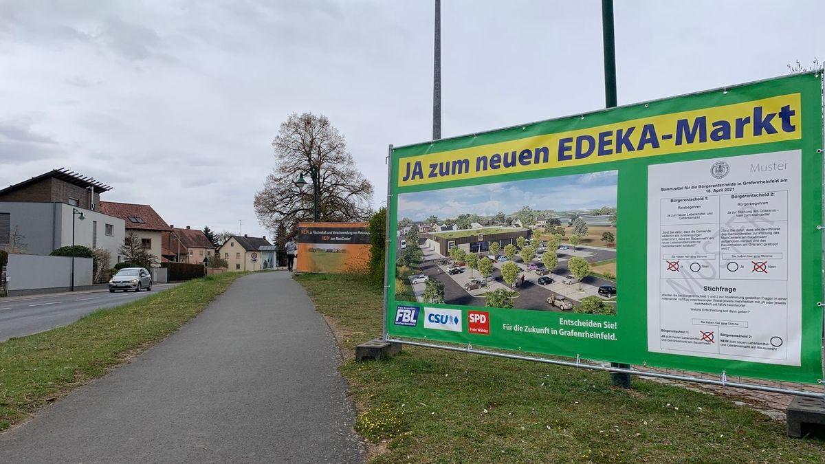 Deutliche Mehrheit für Supermarkt-Neubau in Grafenrheinfeld