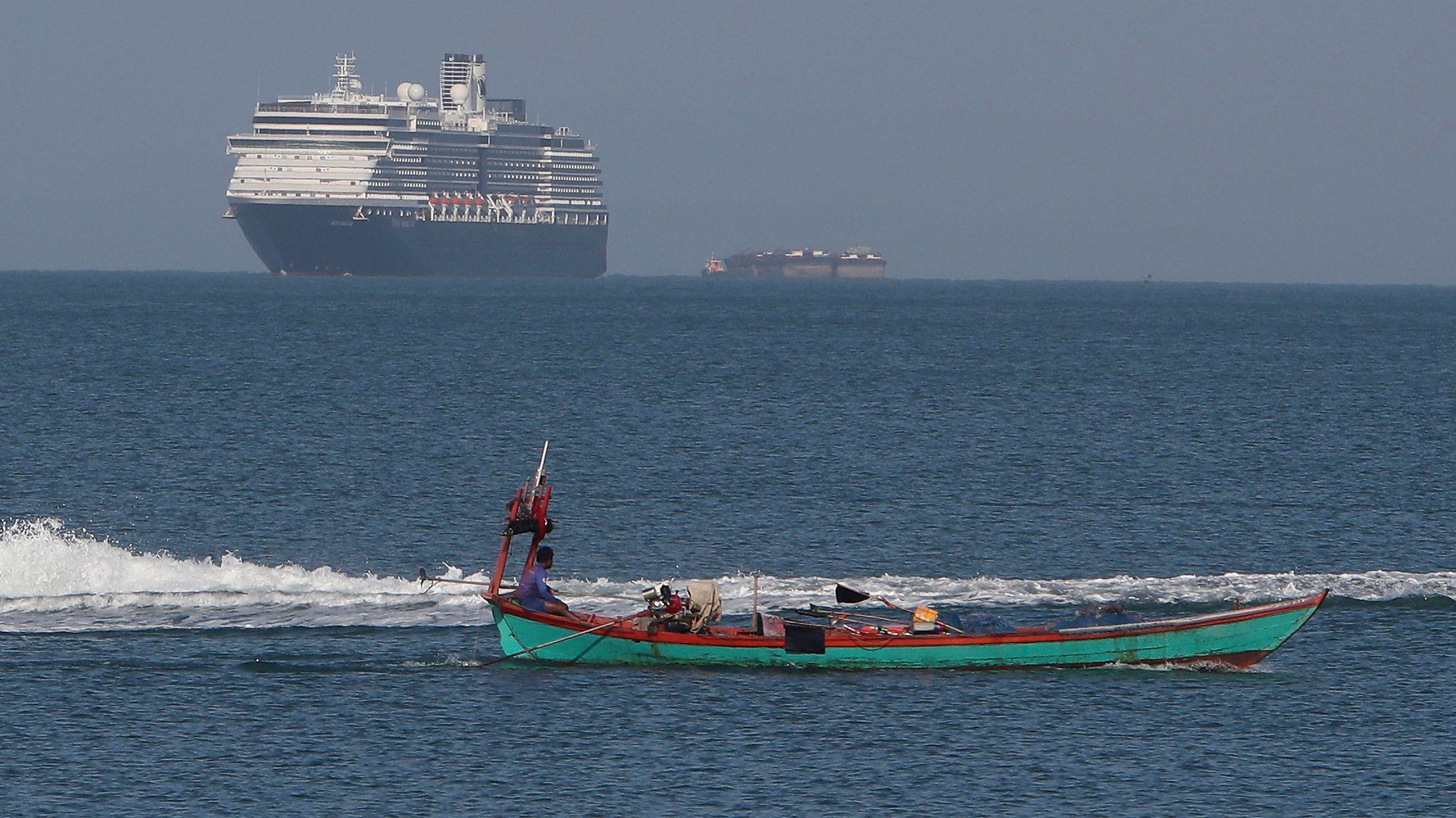 Ende der Irrfahrt für die MS Westerdam vor Kambodscha - auch 57 Deutsche sind an Bord