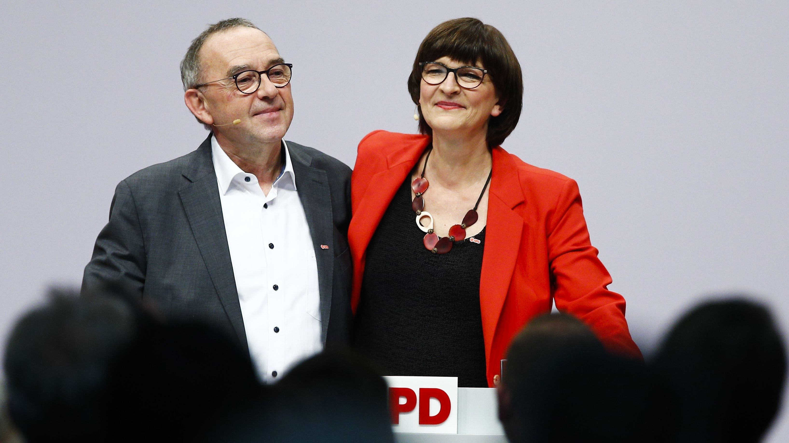 SPD-Parteitag wählt Esken und Walter-Borjans als Spitzenduo