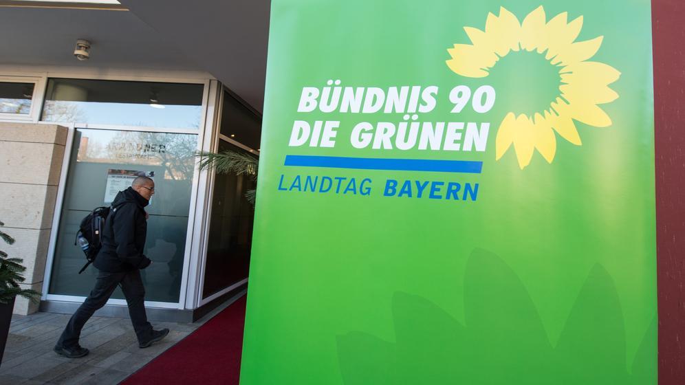 Grünen-Fraktionsklausur in Regensburg | Bild:dpa-Bildfunk