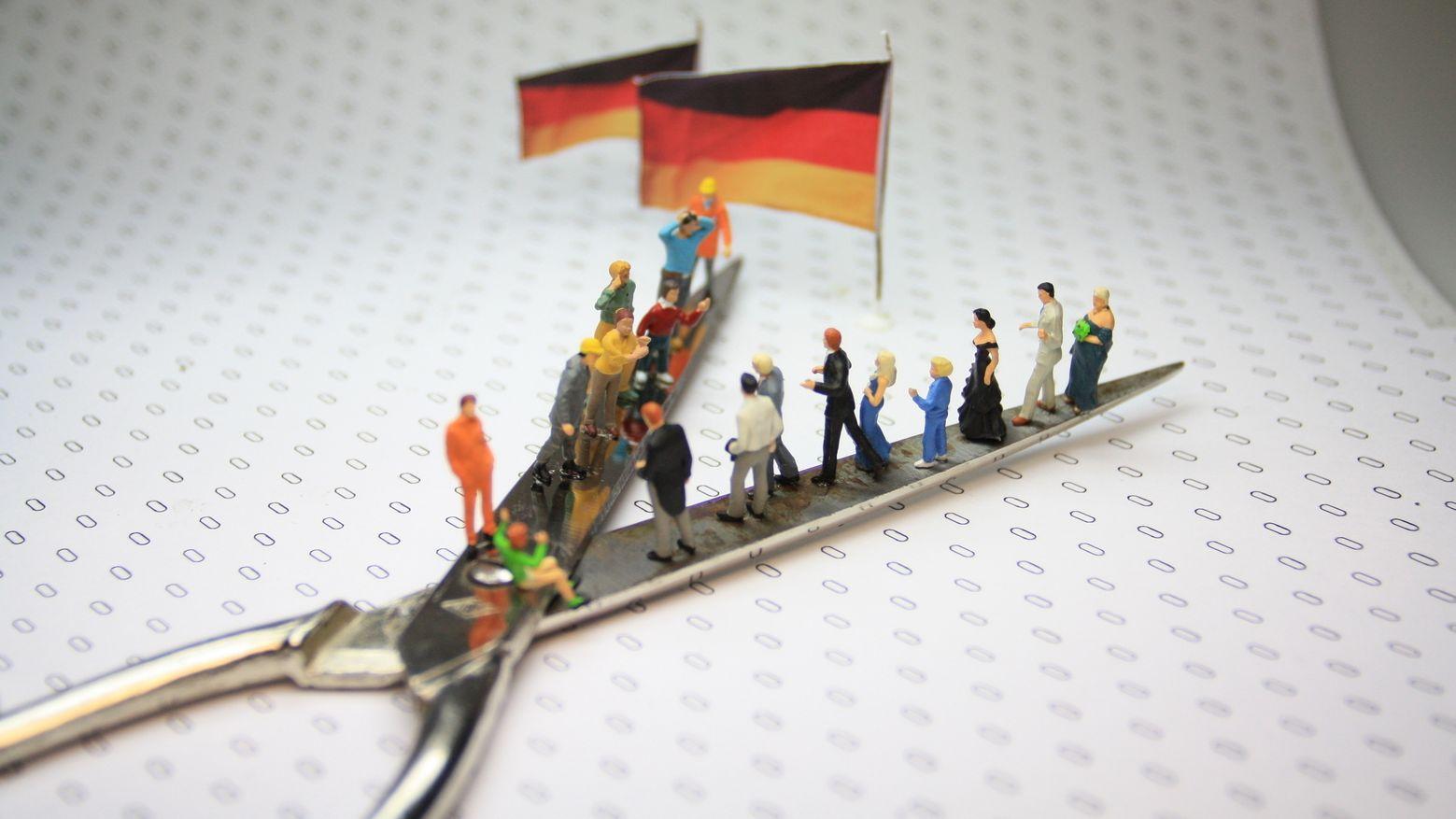 Die Spaltung der Gesellschaft bereitet vielen Deutschen Sorgen