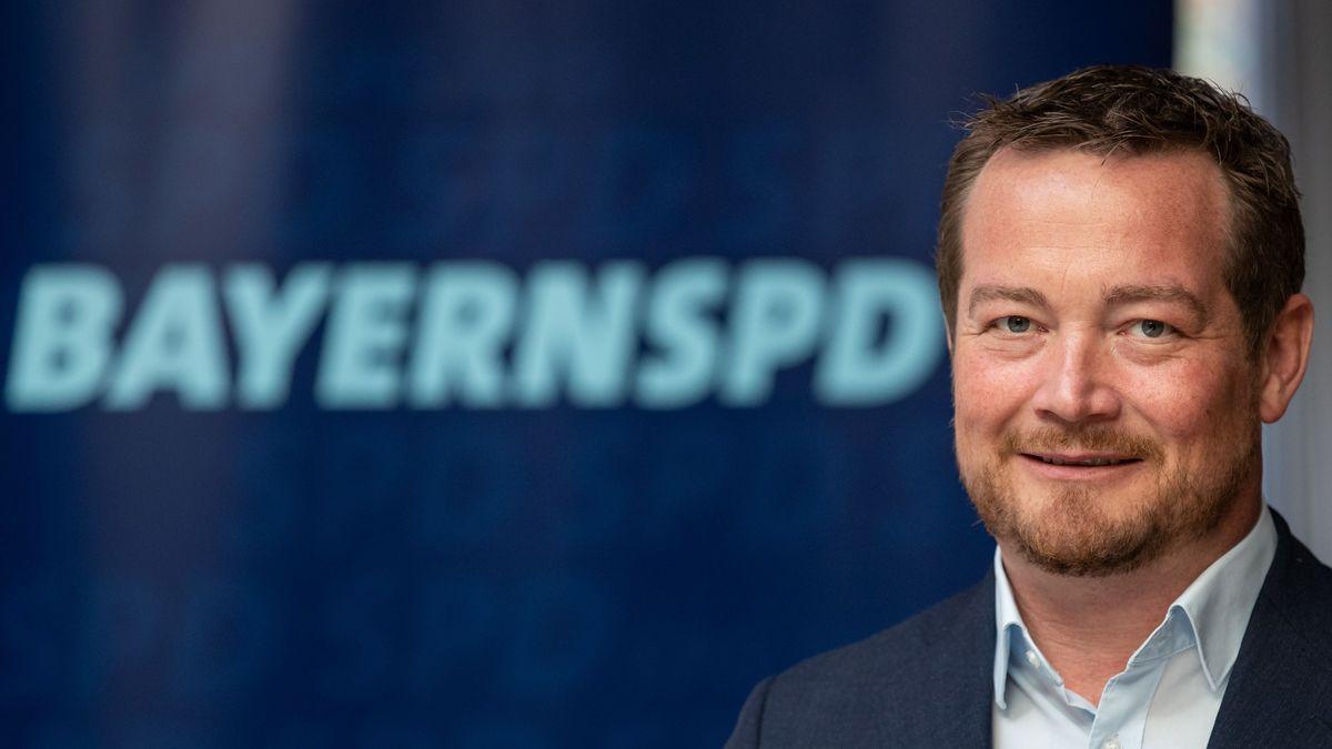 Der bayerische SPD-Generalsekretär Uli Grötsch aus der Oberpfalz
