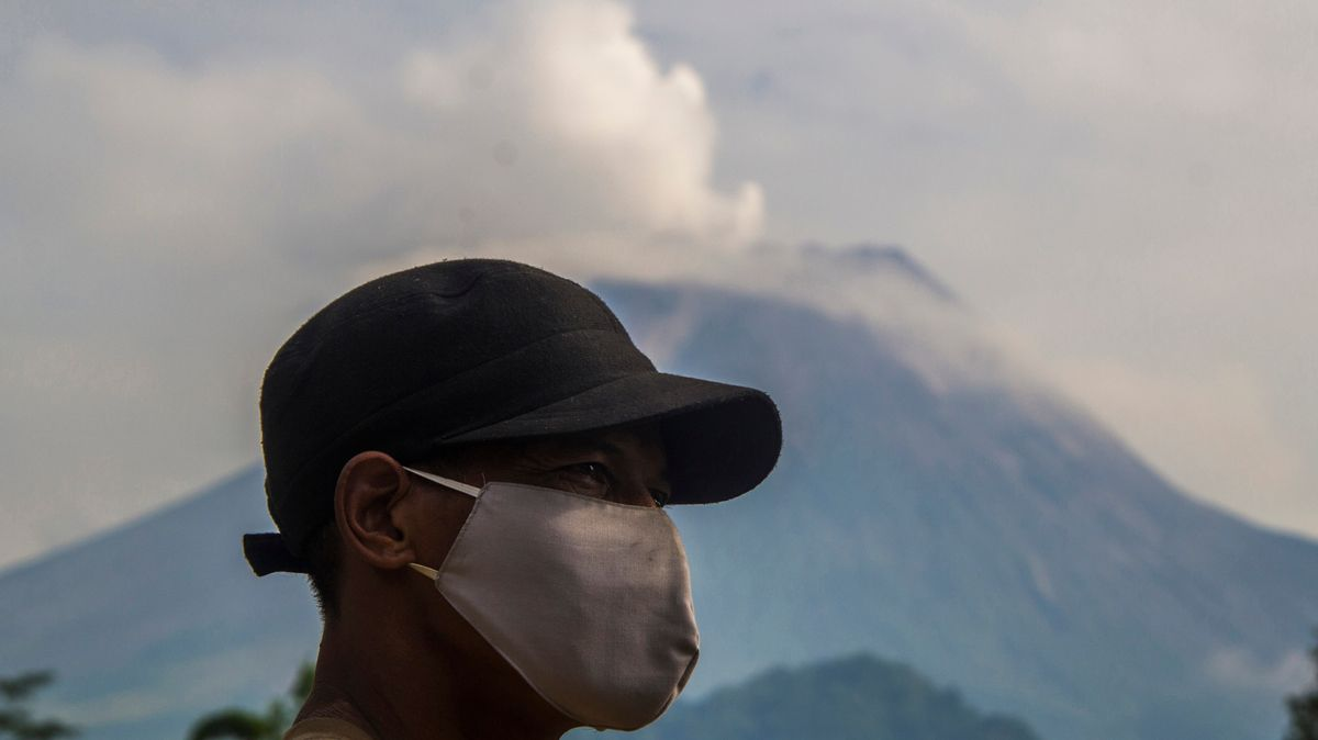 Vulkan Merapi auf Java erneut ausgebrochen