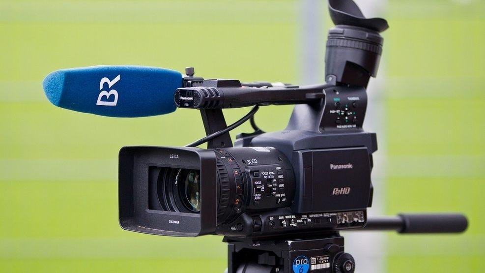 Kamera mit BR-Mikrofon