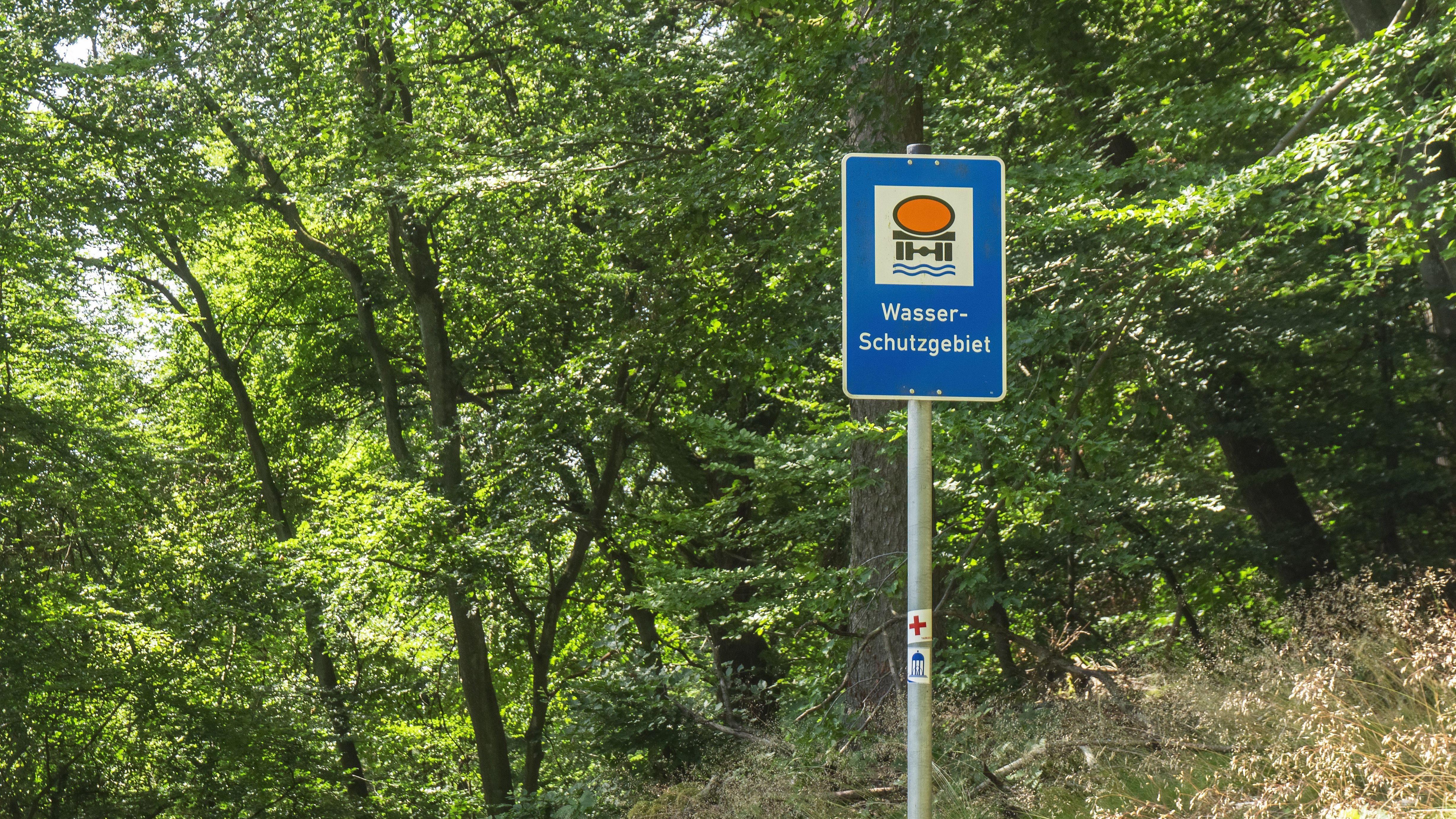 Wasserschutzgebiet (Symbolbild)