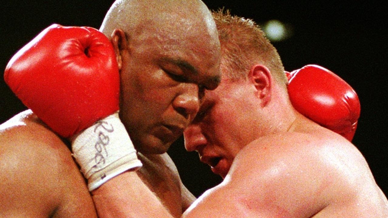 George Foreman kämpft gegen Axel Schulz (April 1995)