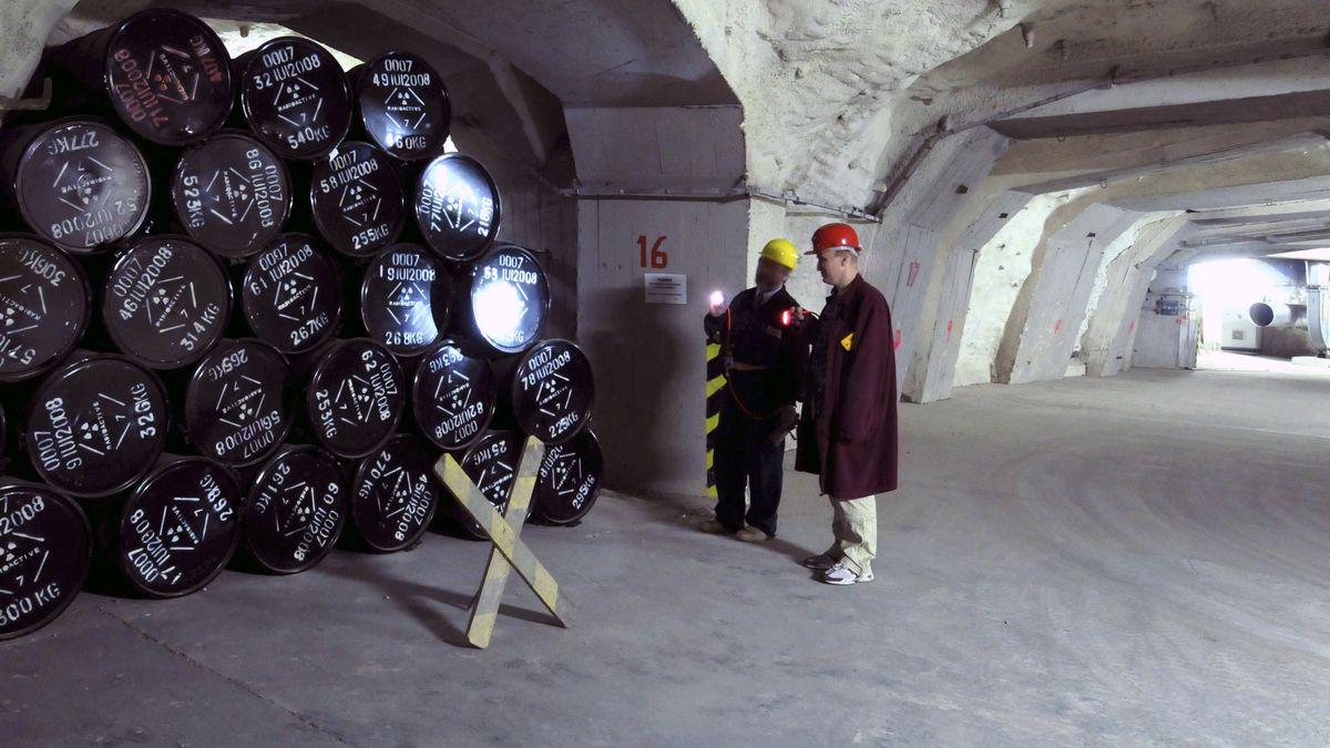 Das Atommülllager im nordböhmischen Litomerice.