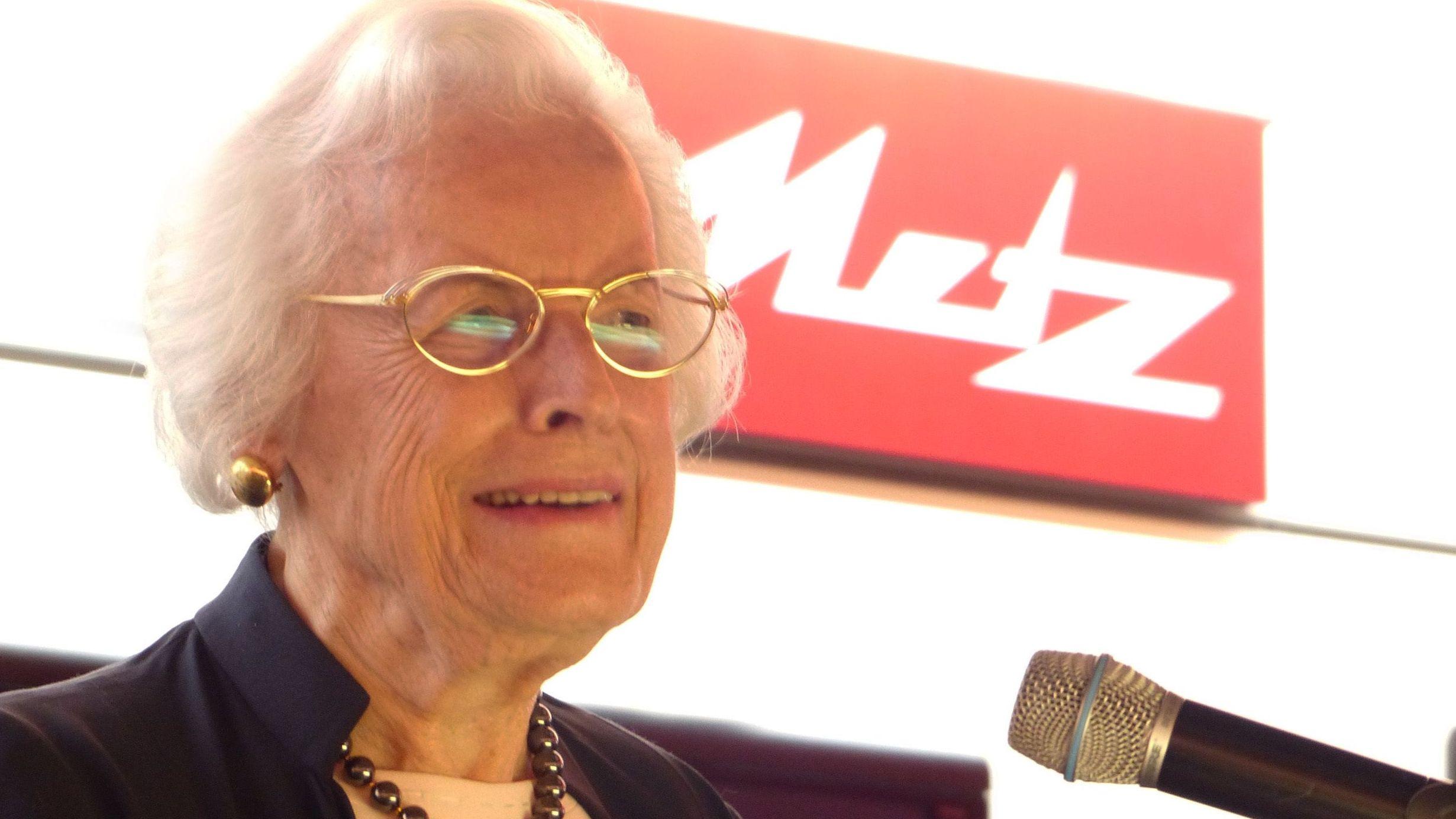 Helene Metz auf der IFA in Berlin 2013