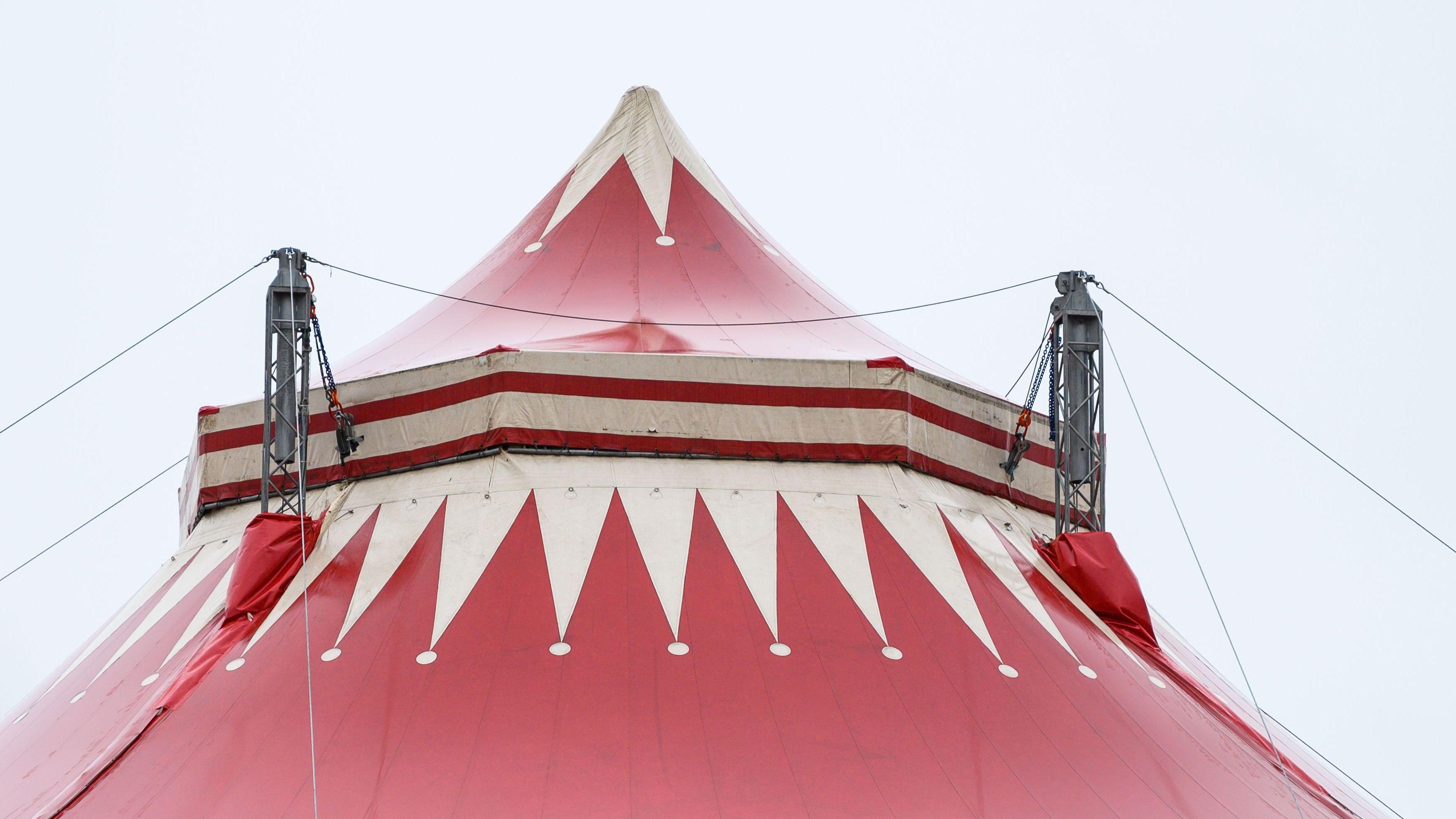 Zirkuszelt (Symbolbild)