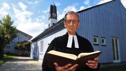 Ulrich Gampert, evangelischer Pfarrer aus Immenstadt, stand heute vor Gericht. | Bild:pa/dpa