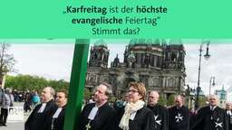 Karfreitag ist für Christen ein Tag der Trauer | Bild:BR24