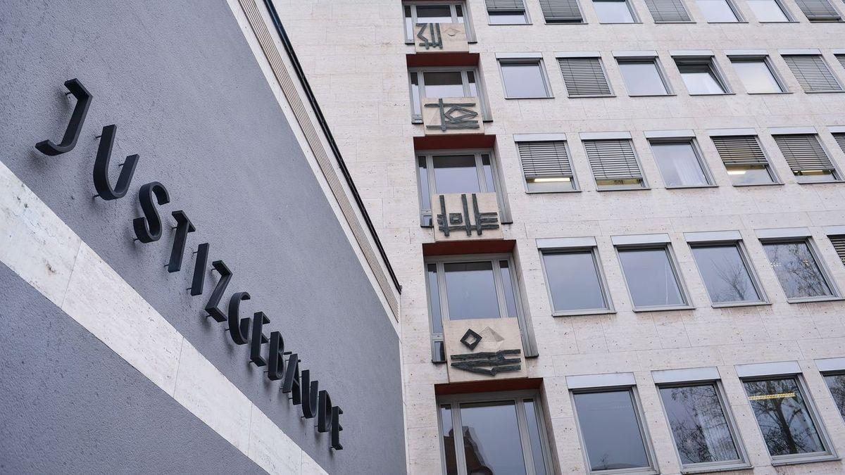 Justizgebäude in Aschaffenburg