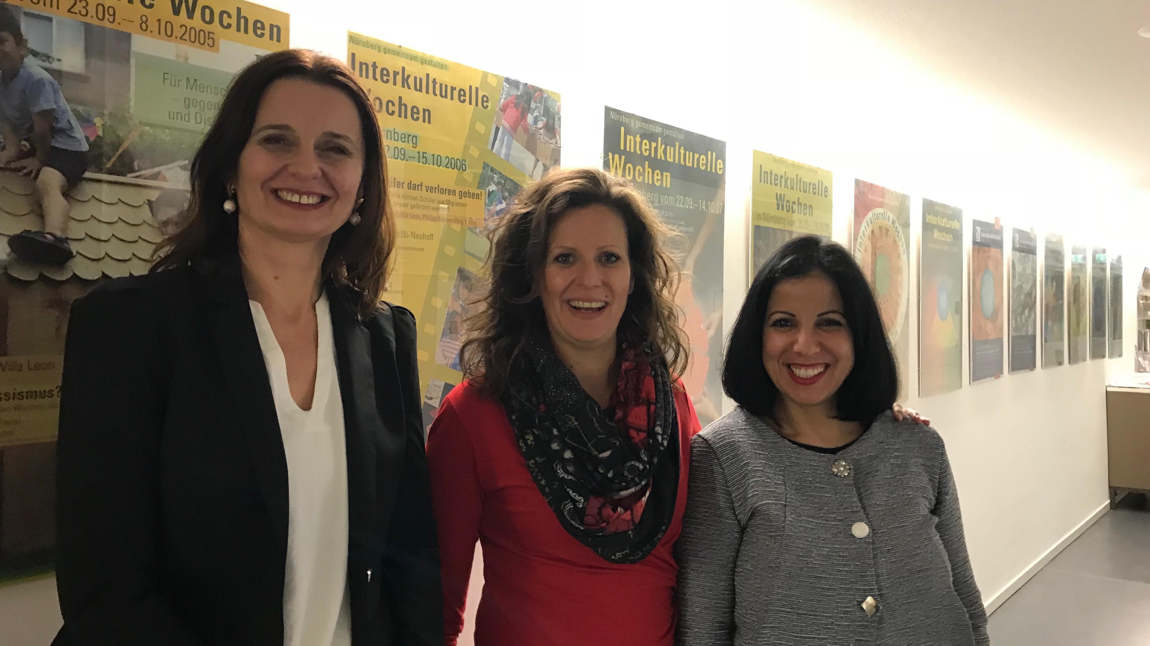 Migrantinnen in die Politik: Marija Jehle, Reka Lörincz und Hanane Malki sind drei, die sich politisch engagieren wollen.
