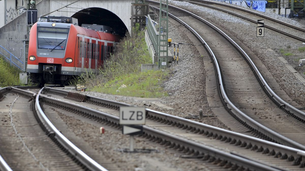 S-Bahn-Stammstrecke am Ostbahnhof (Symbolbild)