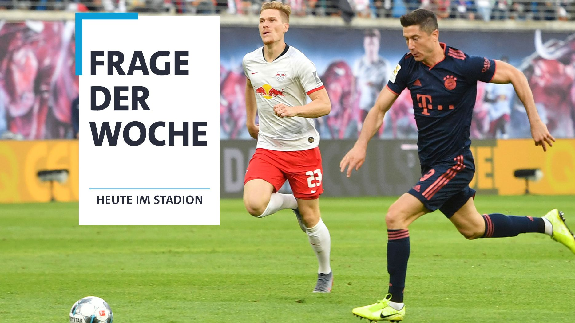 Spielszene FC Bayern - RB Leipzig (Archiv)