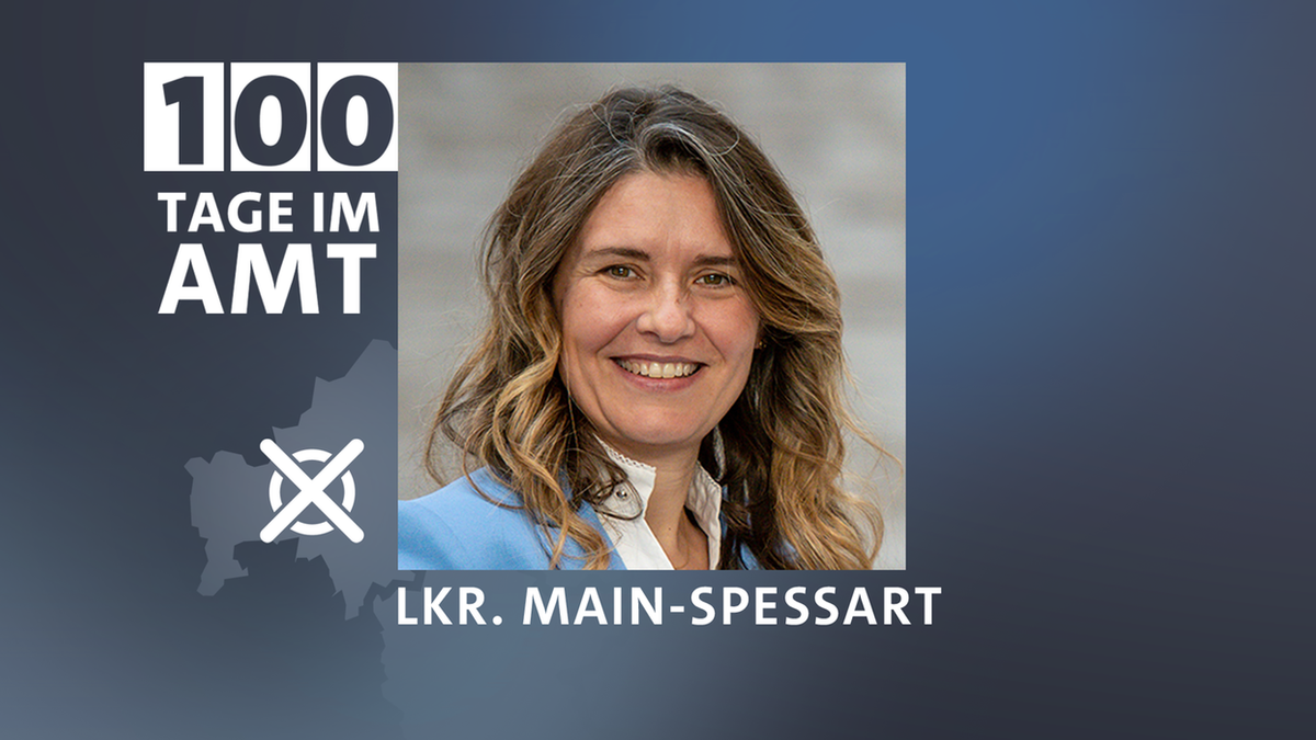 Sabine Sitter 100 Tage als Landrätin im Amt
