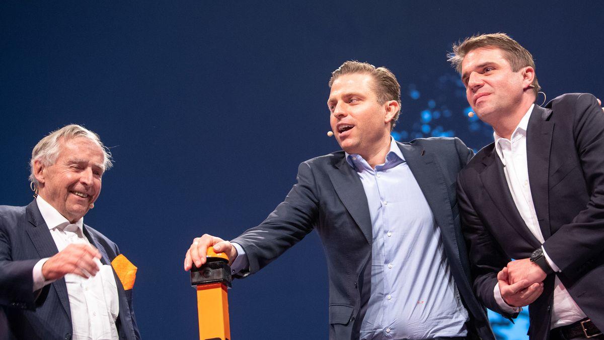 Erich Sixt und seine Söhne 2019