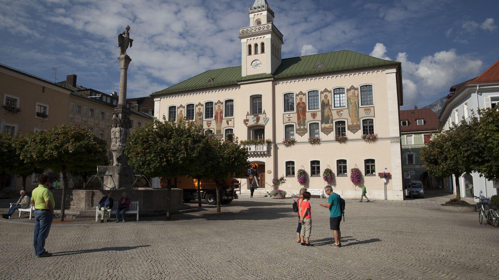 Das alte Rathaus von Bad Reichenhall