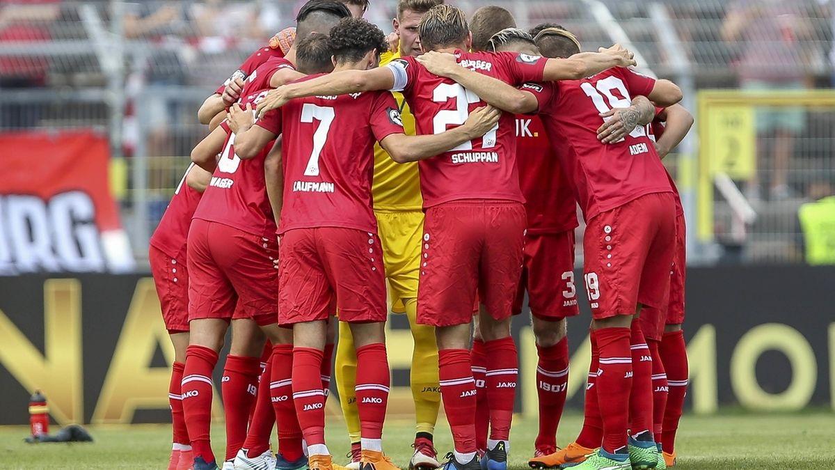Spieler der Würzburger Kickers