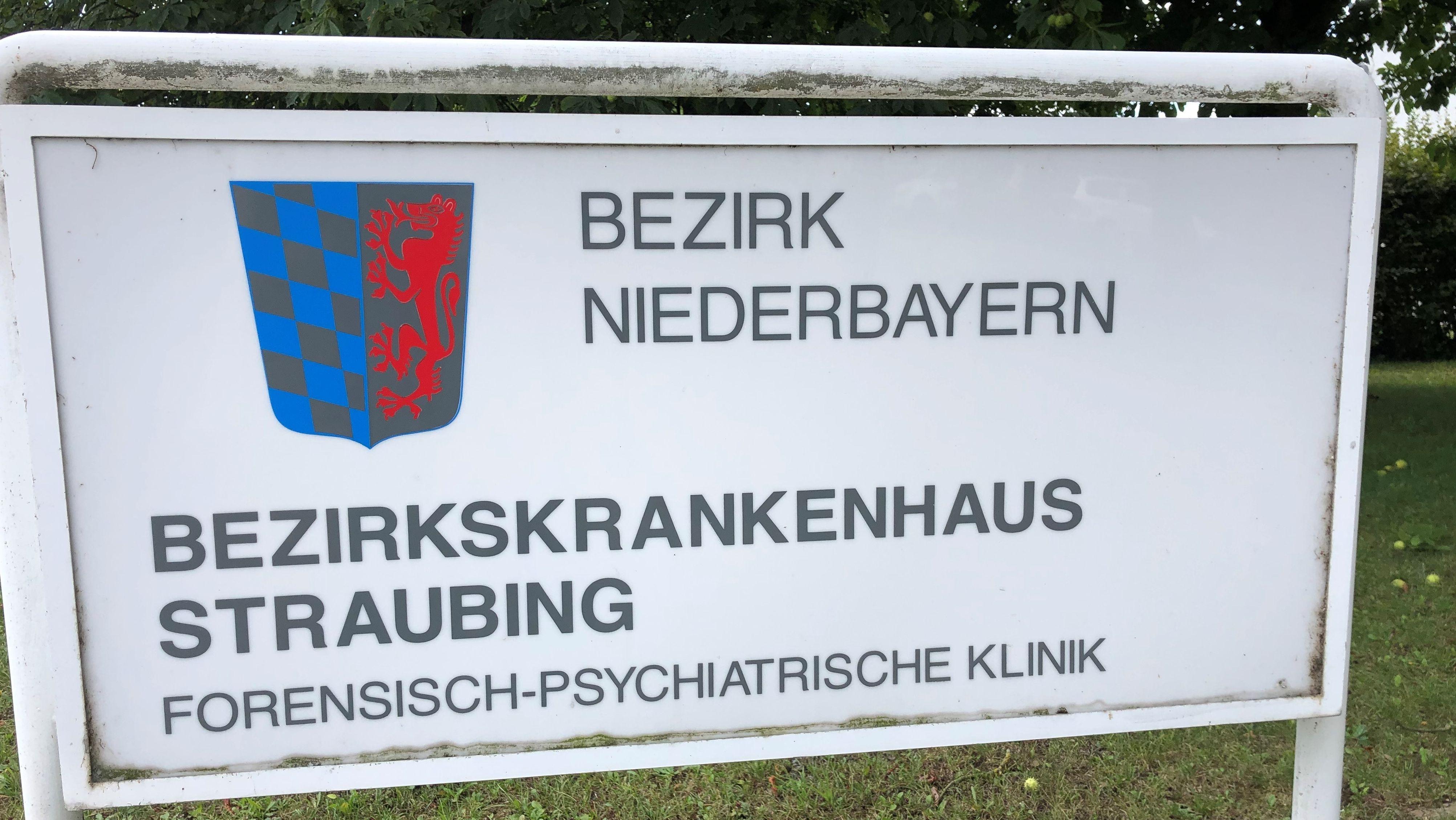 Schild BKH Straubing