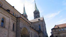 Der Bamberger Dom: Hier findet heute der Eröffnungsgottesdienst der Delegiertenversammlung statt   Bild:BR