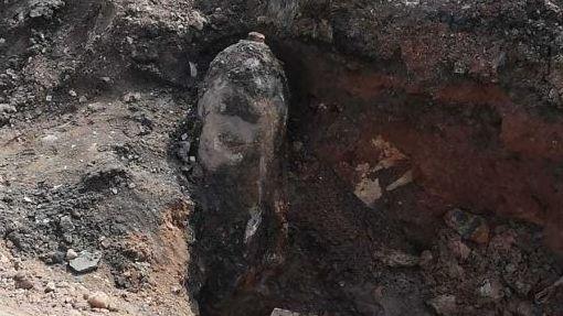 Die 250-Kilo-Bombe wurde zwischen den Gleisen 2 und 3 gefunden