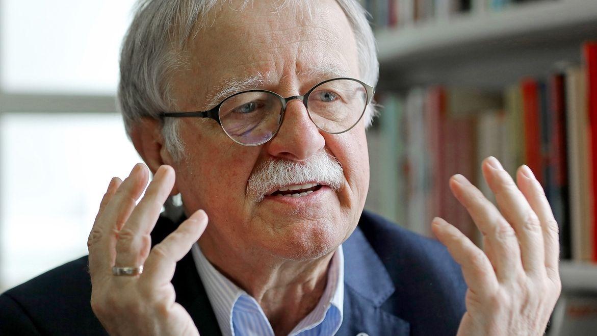 Kirchentagspräsident Hans Leyendecker