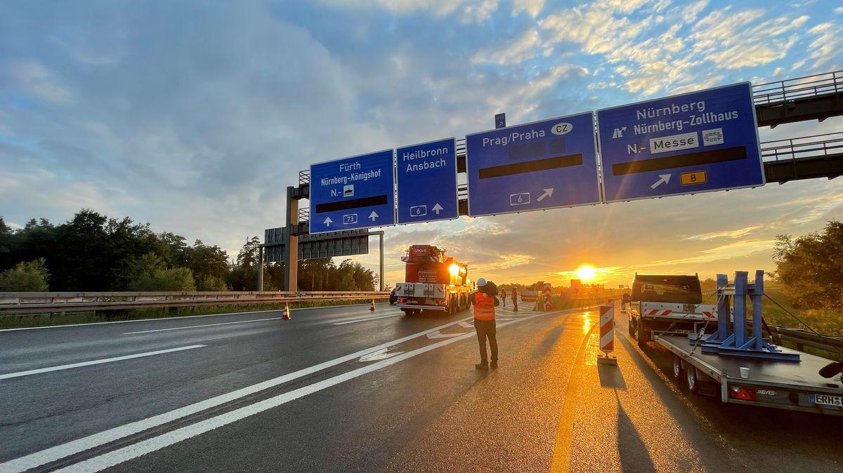 Erfindung aus Franken soll Autobahn-Arbeiten beschleunigen