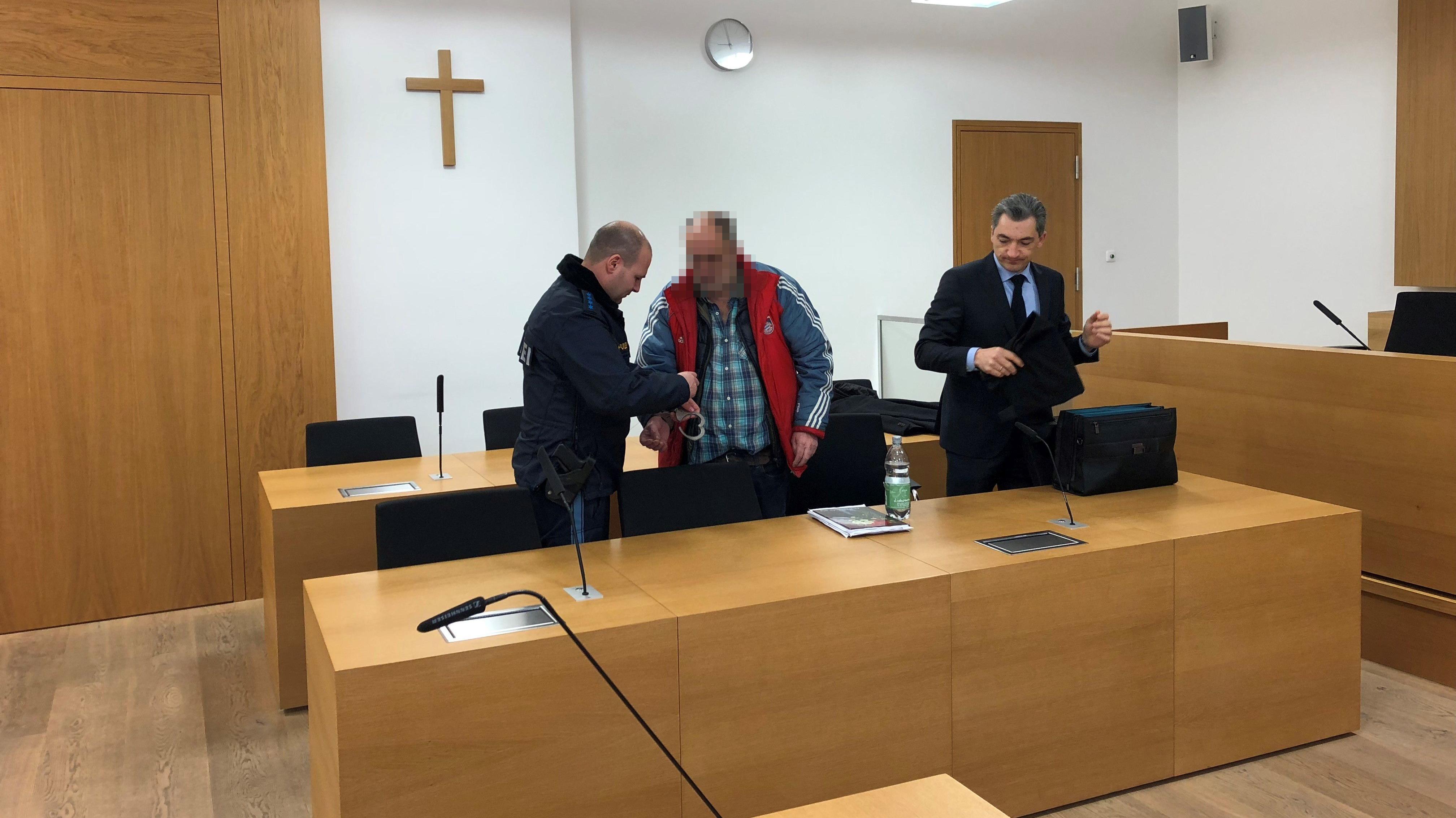 Der Angeklagte wurde heute freigesprochen.